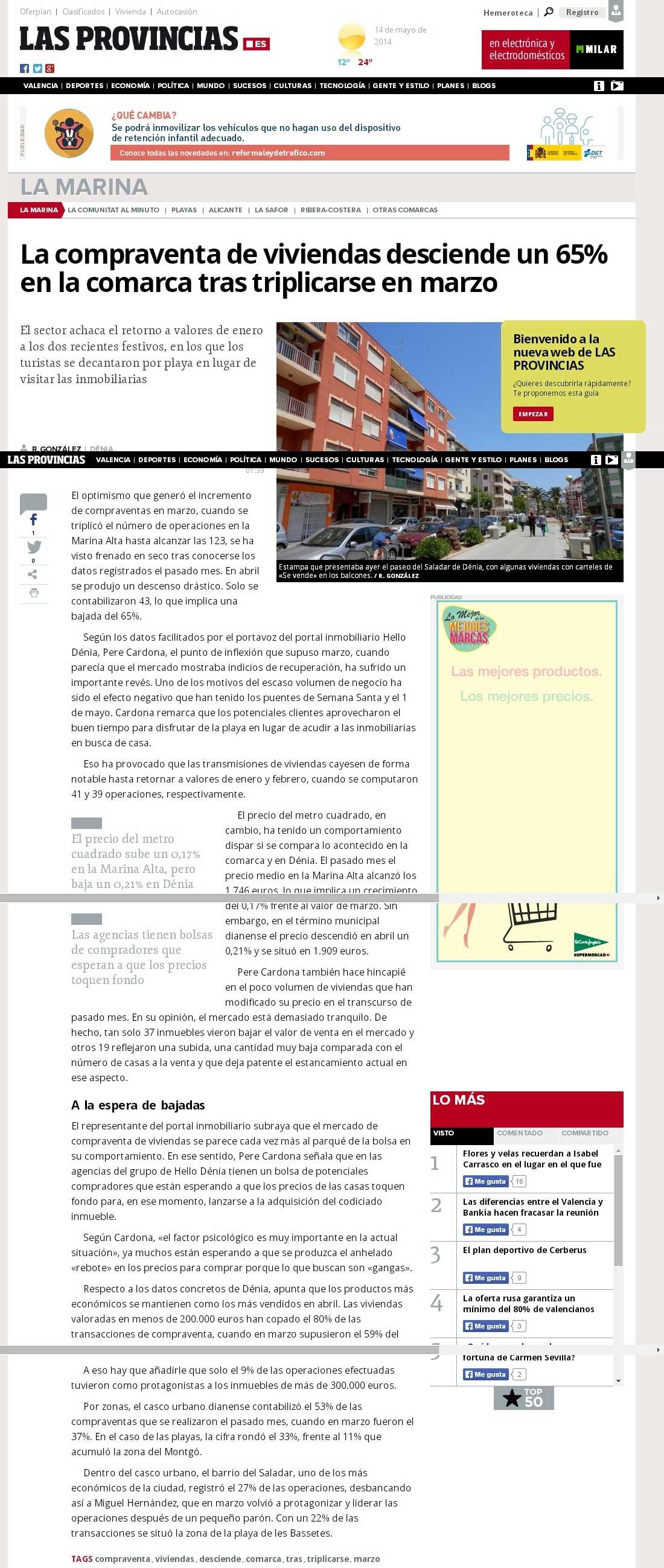Las Provincias - Informe Abril Hellodenia